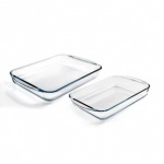 Pyrex Set of 2 Rectangular Roasters (ARC912S799)