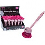 Ladybird Des. Long Handled Washing Up Brush In D/box