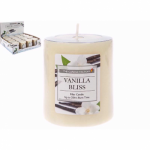 3'' Pillar Ivory Church Candle with Vanilla Scent