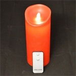 Reality Dancing Wax Red Wavy Candle