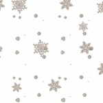 Gold Snowflake Film Roll