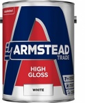 Armstead Trade High Gloss White 5Ltr