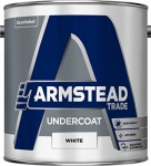 Armstead Trade Undercoat White 2.5Ltr