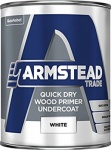 Armstead Trade Quick Dry Wood Primer Undercoat 1Ltr