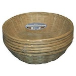 **** N/Weave Bamboo BK Round 30cm
