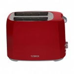 Tower Red 2 Slice Toaster