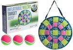 Inflatable Velcro 50cm Target  With 3 Velcro Tennis Balls