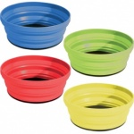 Set of 4 Folding Bowls - Assorted Colours