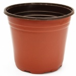 Red Flower Pot 19cm