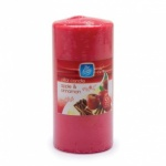 Pan Aroma 151 PILLAR CANDLE  55 HOURS  APPLE AND CINNAMON (PAN0323)