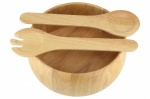Apollo RB Salad Set Wooden 10'' + Servers