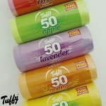 TUFFY ASSORTED SCENTED PEDAL BIN LINERS ROLL 50
