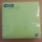 2 PLY APPLE GREEN 40CM X 40CM PK50 NAPKINS   XXXX