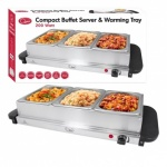 Compact Buffet Server & Warming Plate