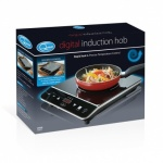 **** Quest Single Digital Induction Hob 2000W with LED display (35830)