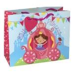 PRINCESS CARRIAGE EXTRA LARGE GIFT BAG (YAFGBX083) PACK 6