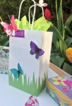 FAIRY & BUTTERFLIES EXTRA LARGE GIFT BAG (YAFGBX228) PACK 6