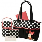 DISNEY MINNIE PATTERN LARGE GIFT BAG (YAGGBL352) PACK 6