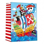 PIRATES EXTRA LARGE GIFT BAG (YAGGBX296) PACK 6