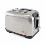 Kitchen Perfected 2 Slice Toaster - Brushed Stee