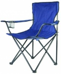 Blackspur CANVAS CHAIR WITH ARMS - BLUE