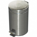 Kingfisher 12L Stainless Steel Pedal Bin [PED200]