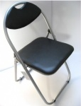 ANZ Brown Steel Folding Chair