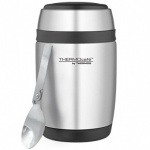 Thermos Cafe Curved  Food Flask with Stainless Steel Spoon 400ml