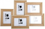Wooden Multiframe White Border