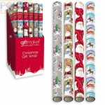 5m x 69cm Santa & Friends Wrap