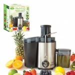 Nutri-Q Centrifugal Juicer Stainless Steel/2 Speeds with Pulse Function