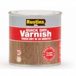 Rustins  5 Litre Quick Dry Varnish - Clear Gloss
