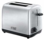 Russell Hobbs Brushed 2 slice ToasterWitn Variable Browning Controll 850W (24081)