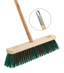 Bettina Wooden Outdoor Broom 15'' WITH HANDLE