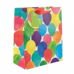 ED GIFT BAGS, PARTY TEXT BALLOONS X LRG, PK OF 6