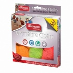 Kingfisher 3 Pack of Microfibre Cloths