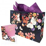 ED GIFT BAGS, FEMALE BUTTERFLYS - LARGE PACK OF 6