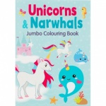 Unicorns & Narwhals Jumbo C/ Book