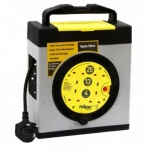 rolson 4 socket 25m cable Reel 60070