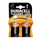 Duracell Plus Power D Size MN1300 Pk2 (Box)