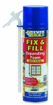 Everbuild Fix& Fill Expanding Foam 500ml ( NO RETURNS FOR MISSING STRAWS)