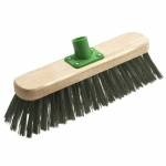 12'' Green Pvc Flat Socket Broom Head