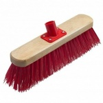 12'' Red Pvc Broom Head