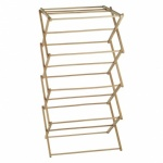 Wood Folding Concertina Clothes Airer