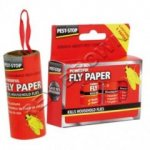 Pest-Stop Fly Paper PK4