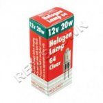 Red/Grey G4 12v/20w Halogen Capsule Lamp Medium Beam G4C/20