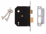 Union 2L Sash Lock Brass 63mm (Y-2295-PL-2.50)