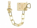 Yale Door Chain Brass (V-WS6-EB)