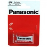 Panasonic R22 9V-6F22 (PP3) Battery (BOX)