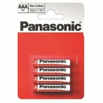 Panasonic  AAA X4Pk  Batteries (BOX)
